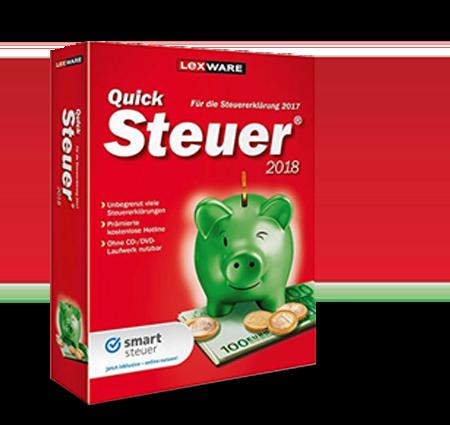 QuickSteuer 2018 • Steuersoftware im Test & Vergleich
